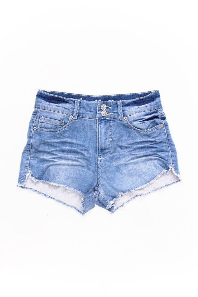 ... the high waisted denim shorts ... letcufa