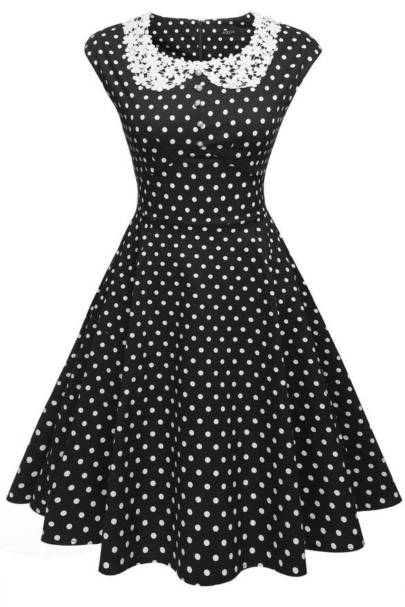 1950s style dresses 500 vintage style dresses for sale classy polka dot pinup dress $26.50 at jccqywm