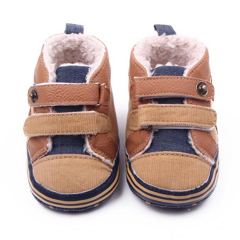 baby boy shoes hot sales fashion winter newborn baby boys shoes warm first walker infants kvadjiv