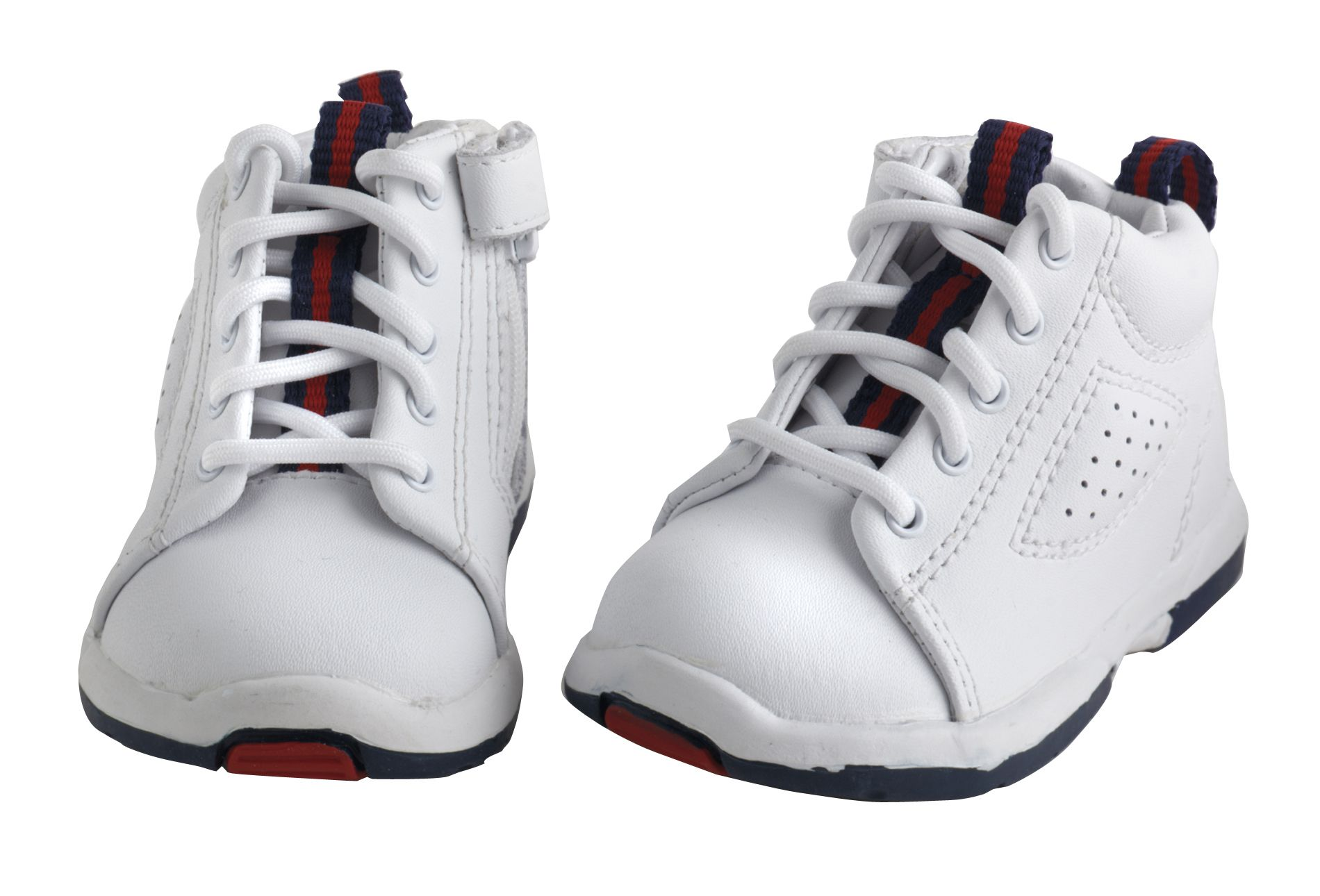 baby boy shoes little wonders baby boyu0027s first steps sneaker - white kfueluz