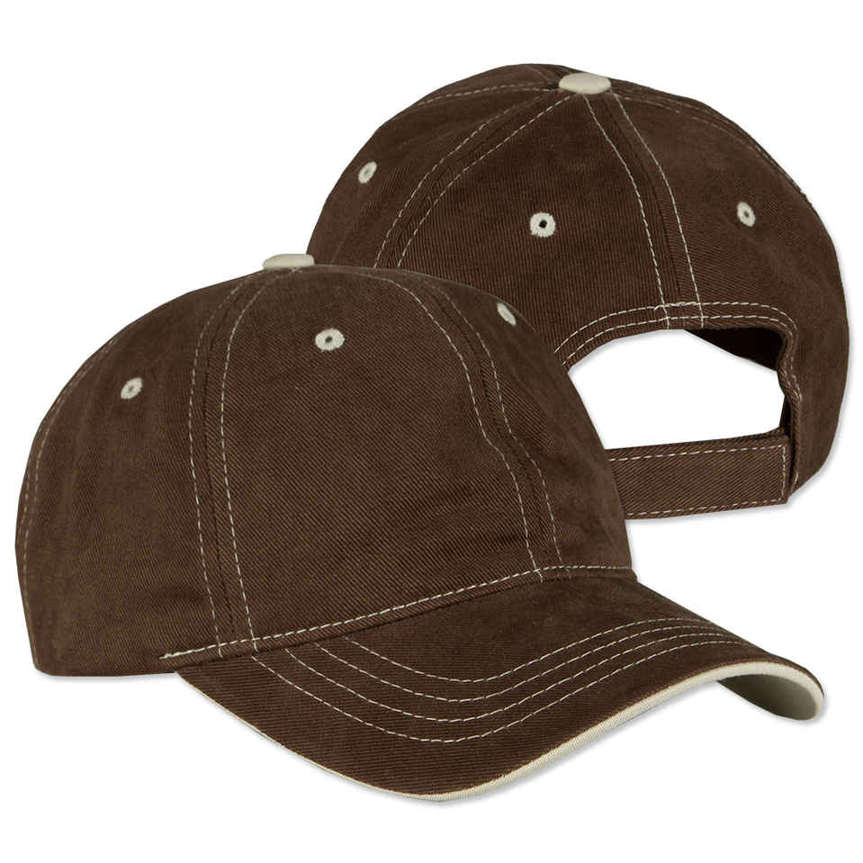 baseball hat custom yupoong contrast stitched hat - design baseball caps online at  customink.com vyxqput