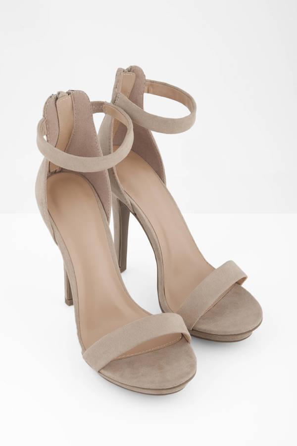 beige heels ... amy natural heels vxaeafo