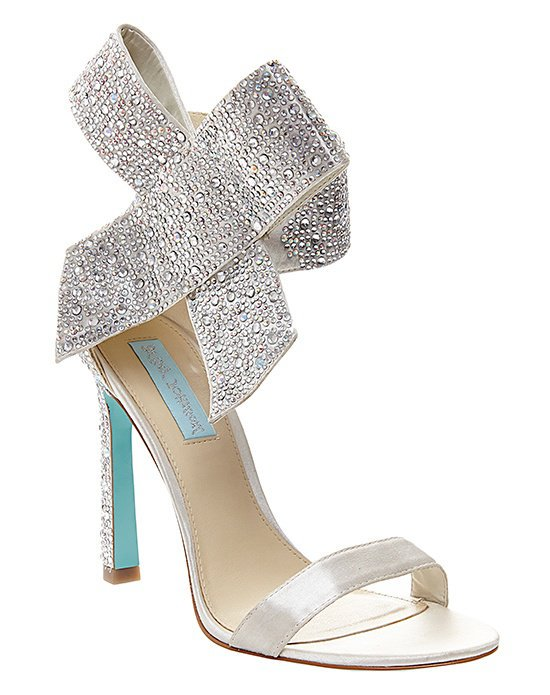 betsey johnson shoes blue by betsey johnson sb-updo - ivory ivory shoe ozcfhak