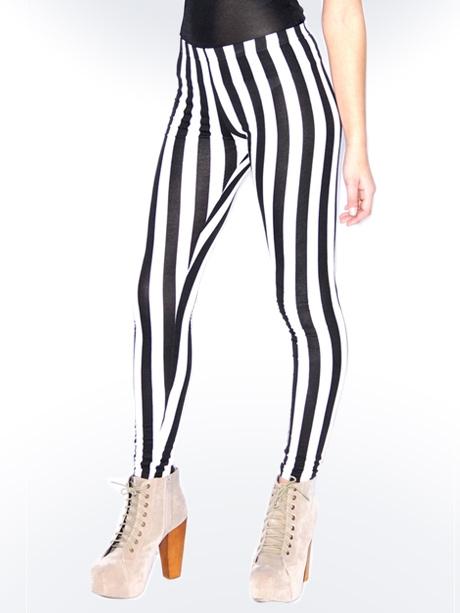 black and white striped leggings gbbjnjz