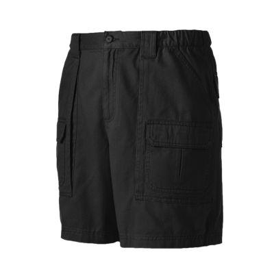 black cargo shorts menu0027s croft u0026 barrow® side elastic cargo shorts itmfmiu
