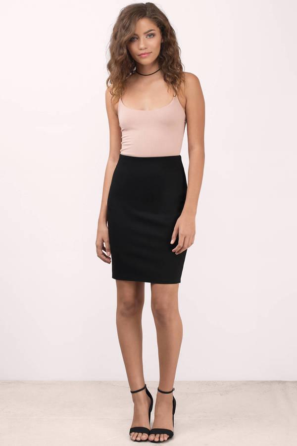 black skirt ... another dream black pencil skirt knvteoi