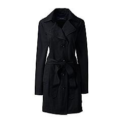 black trench coat landsu0027 end - black petite harbour trench coat hqpbspw