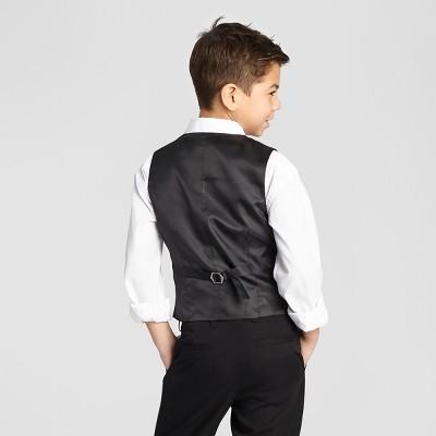 boys vest ny black boysu0027 suit vest - black gwrocok