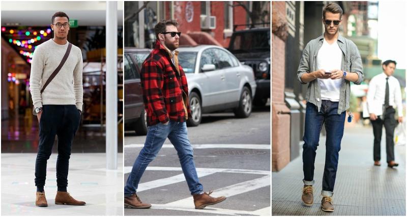 brown desert boots mens street style xbqfnop
