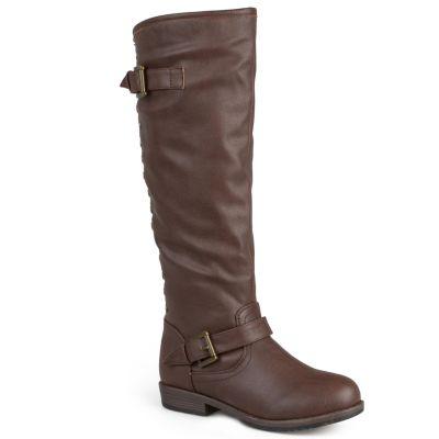 brown riding boots journee collection spokane womenu0027s knee-high boots wrfojtl