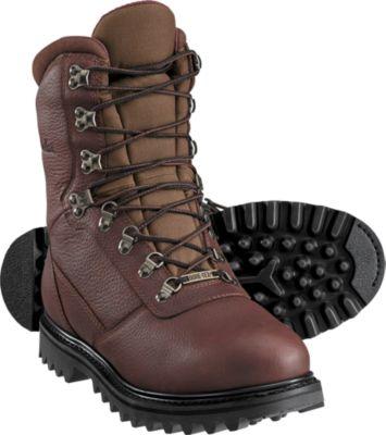 cabelau0027s menu0027s 800-gram all-leather iron ridge™ hunting boots with gore-tex® uvzvtrt