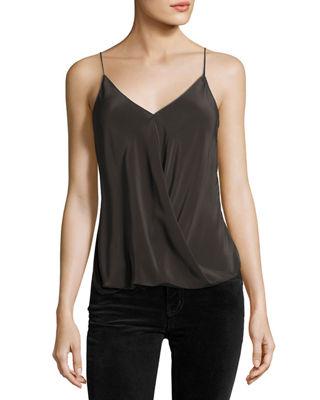 camisole tops bailey 44falafel v-neck silk camisole top xsdkqdj