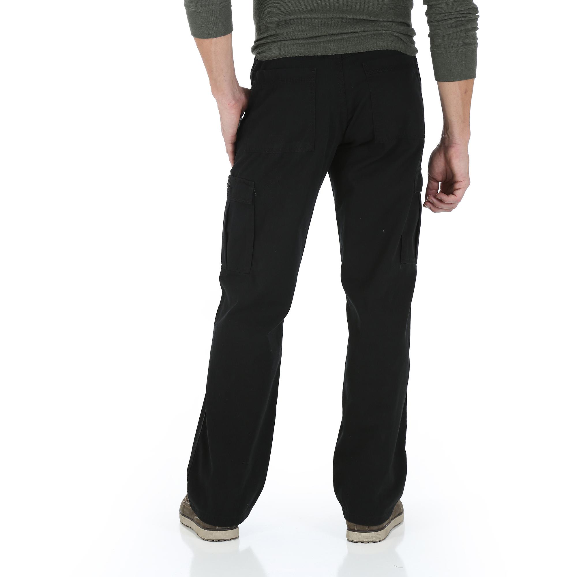 cargo jeans wrangler - menu0027s cargo pants or jeans, 2 pack - walmart.com whloltx