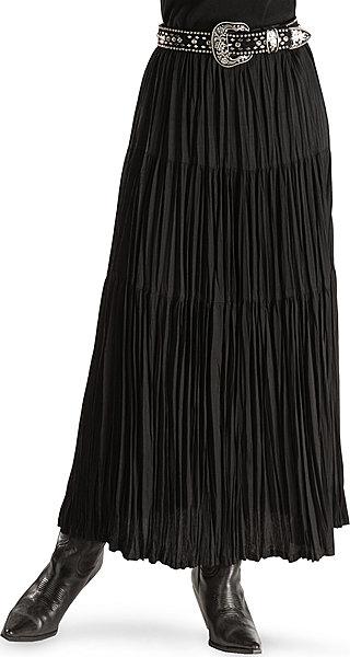 cattlelac broomstick skirt - black zqbgvos