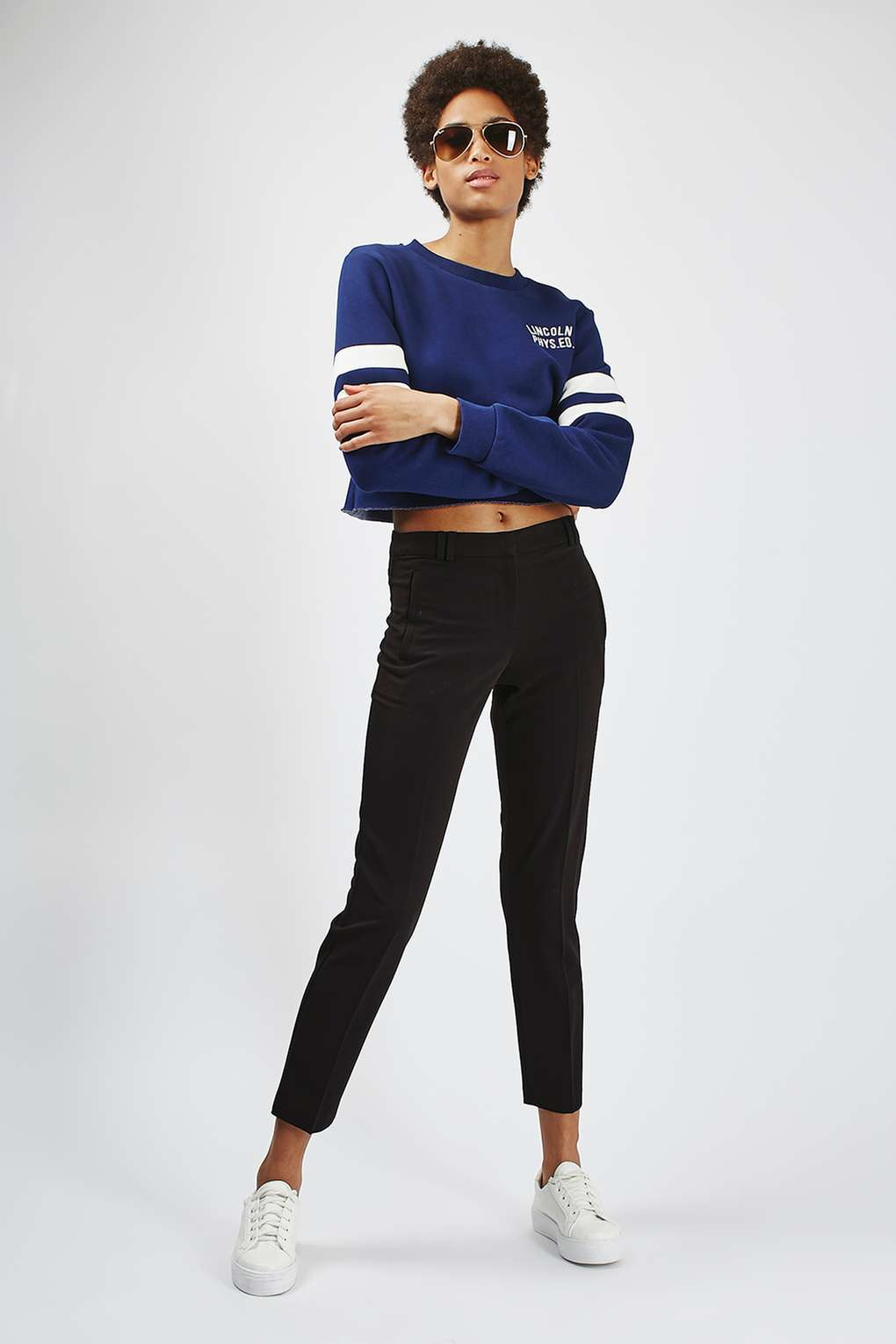 cigarette trousers fitted cigarette trouser - topshop dakabcz