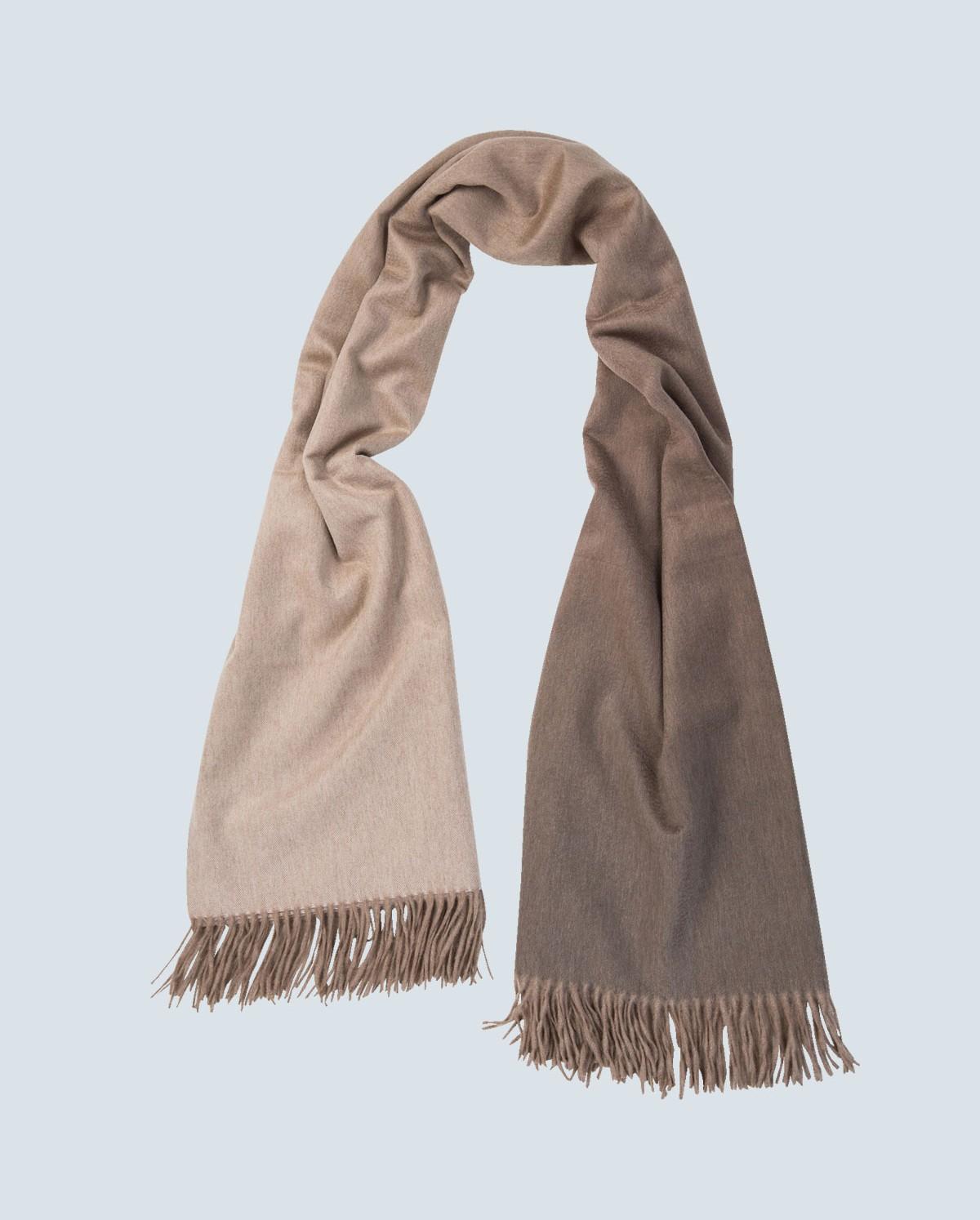 colour graded 100% cashmere scarf marble wkbndoh