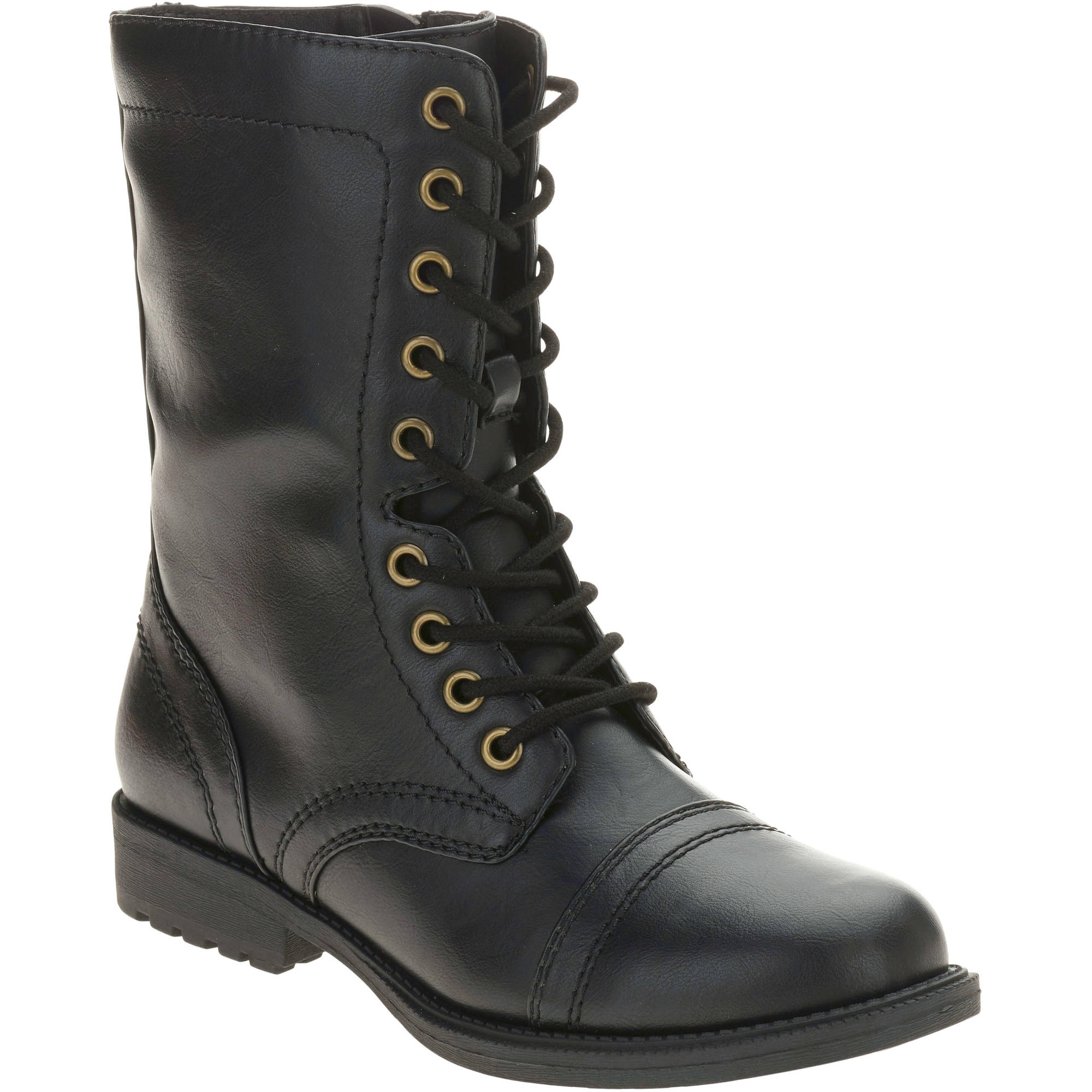 combat boots image is loading combat-boots-women-up-lace-military-shoes-high- gednhlk