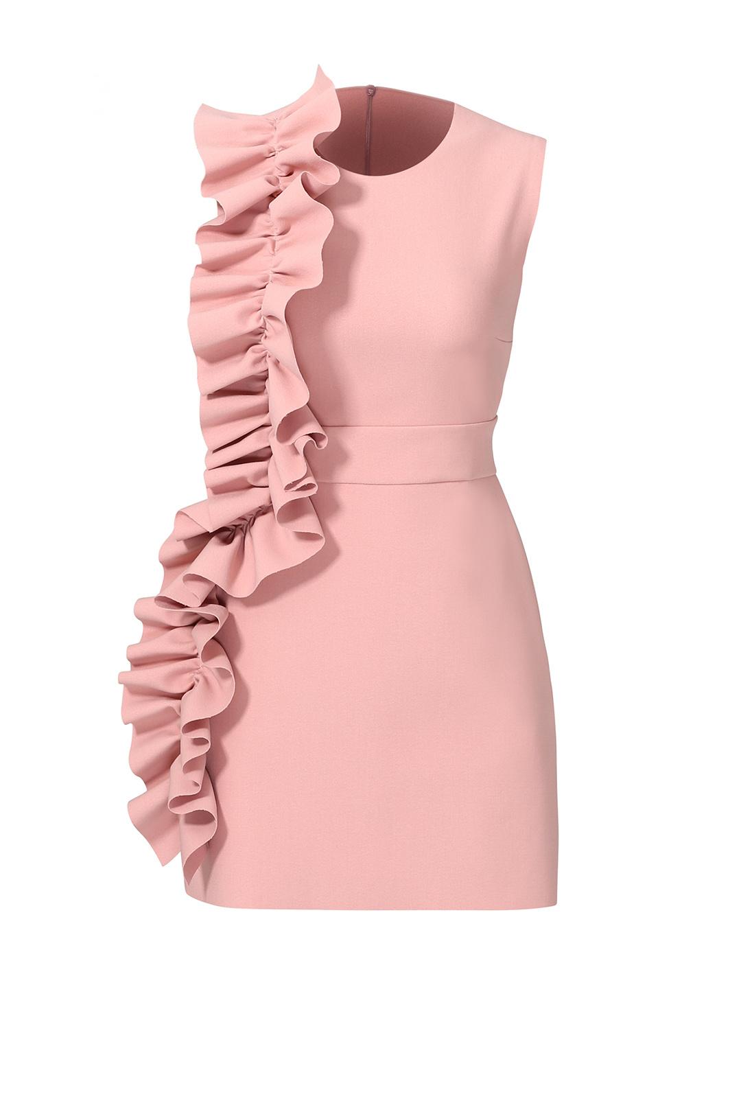 customer photos(19). pink side ruffle dress ... hfwivna