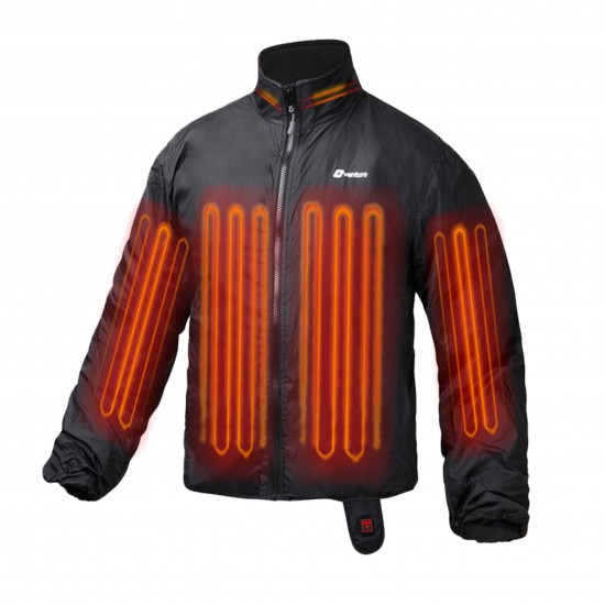 deluxe motorcycle heated jacket liner darbuep