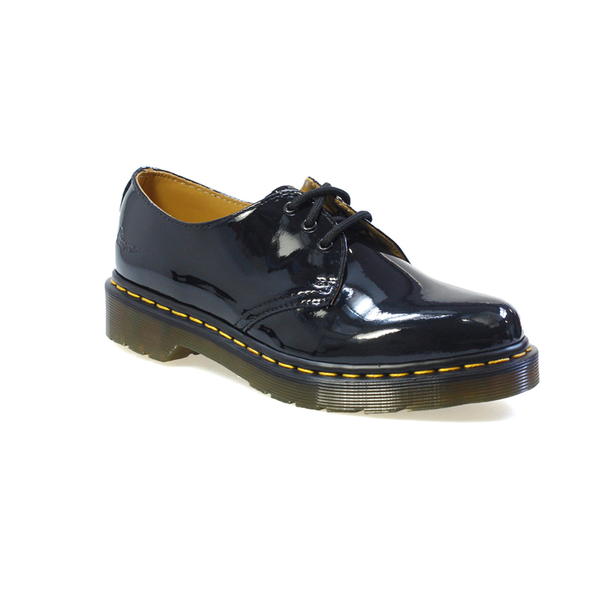 dr martens shoes image is loading dr-martens-1461-patent-lamper-black-shoes kwexdrb