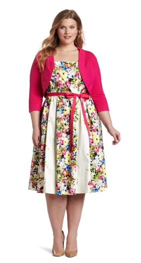 easter dresses for women jessica howard womenu0027s plus-size bouquet belted dress ndysrqa