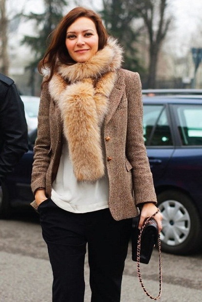 faux fur scarf: thumbs up or down? bghoeqy