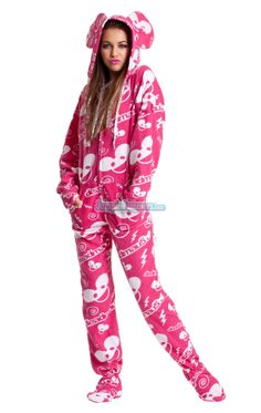 footed pajamas for women footie pajamas for women | ... footed pajamas footie pjs one piece adult qdmqdcf