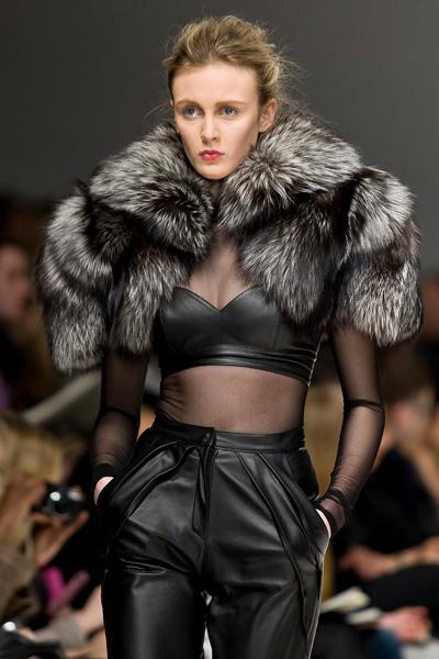 fur fashion toronto fashion week: izma debuts their fresh take on furs kgueywk