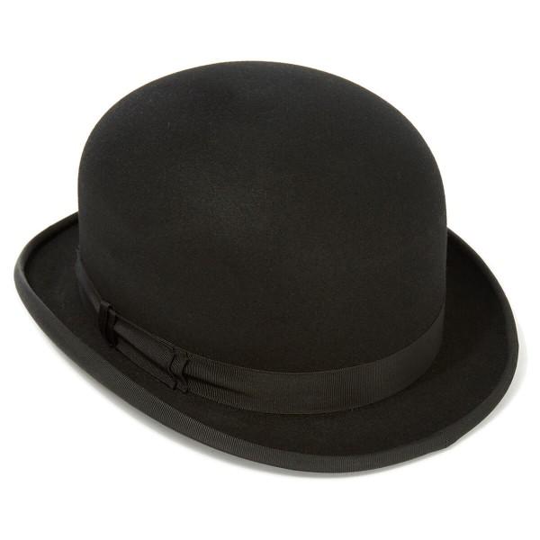 fur felt bowler hat - alt view moxeyda