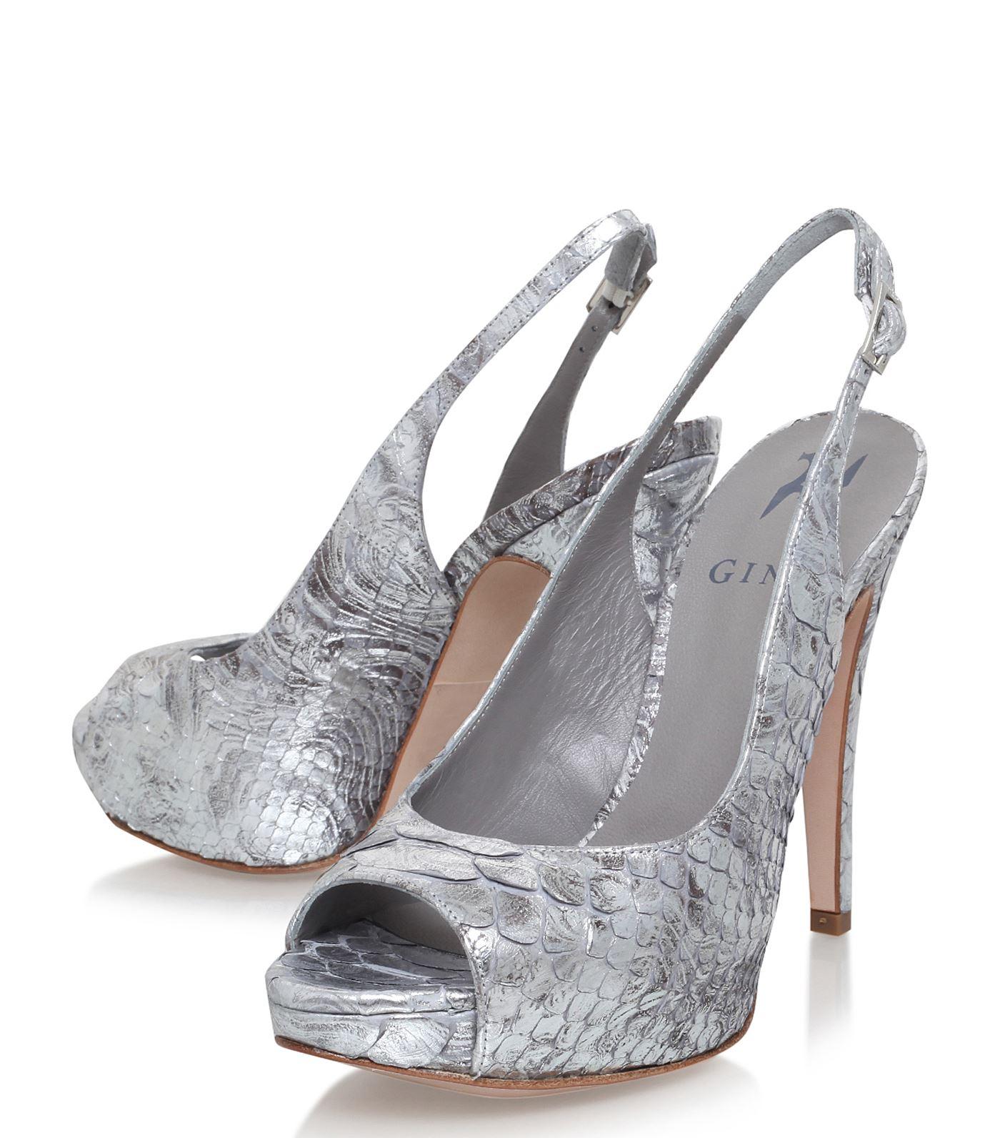 gina shoes ... shoes: court heels gina boa peep toe court shoes cypbqzm