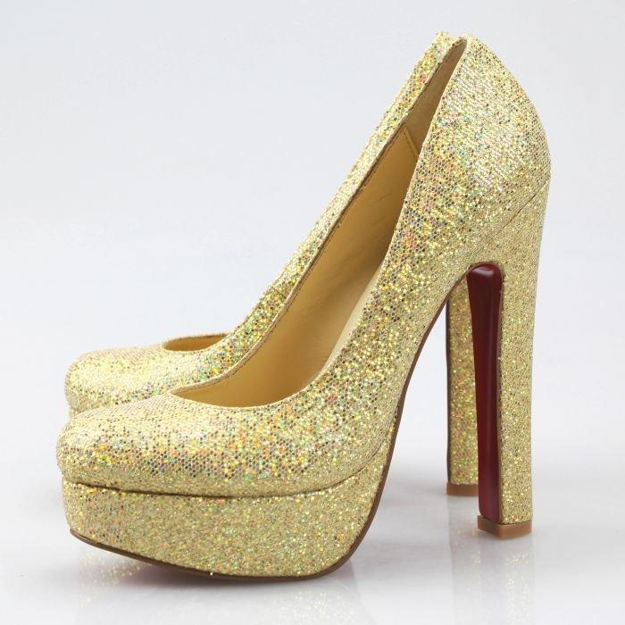 gold high heels pumps ltzkfhp