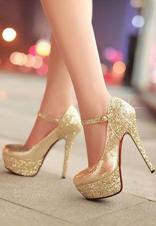 gold high heels style:+sexy/+elegant+ heat:++mixing+color/+ fjnivwz