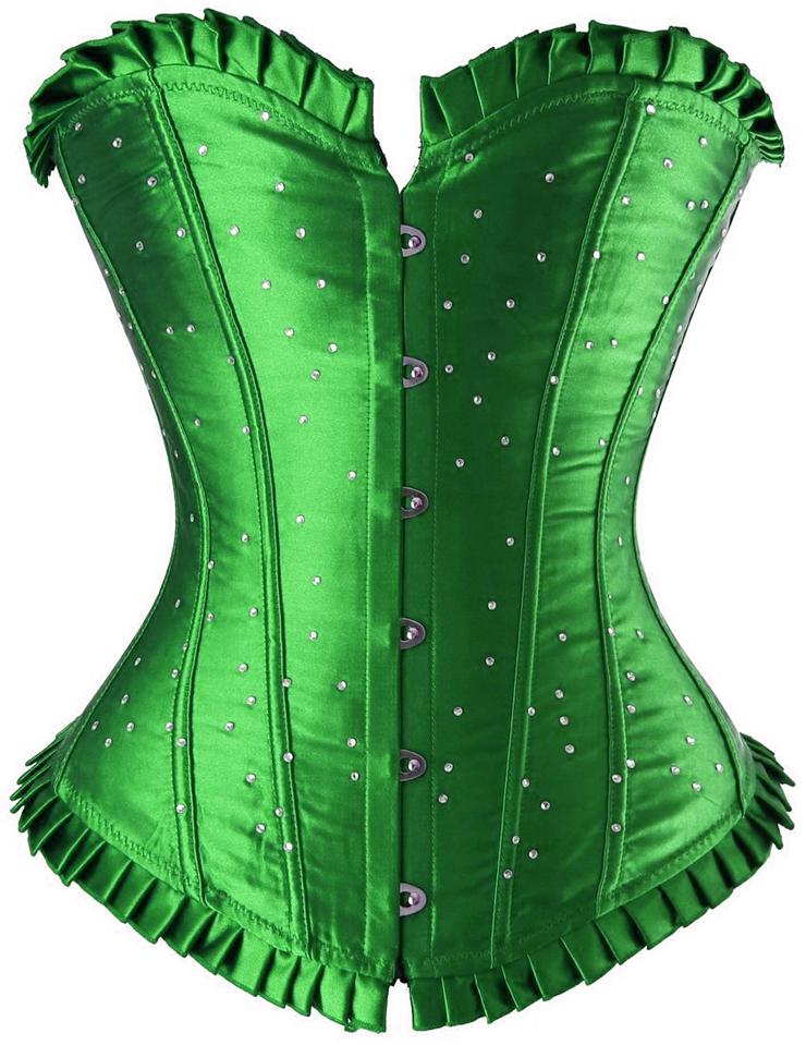 green corset green sparkle corset cb6095 tysbspq