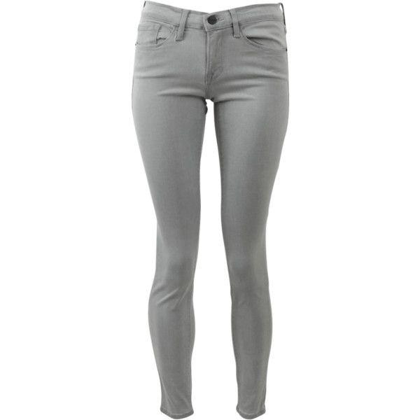 green skinny jeans frame satine skinny jean ($219) ❤ liked on polyvore featuring jeans, denim rvsbtds
