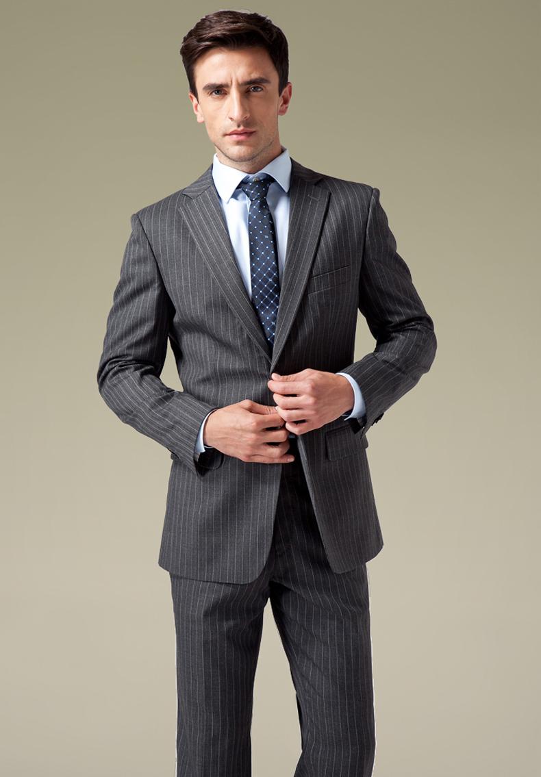 grey elegant business suits for men dembelt