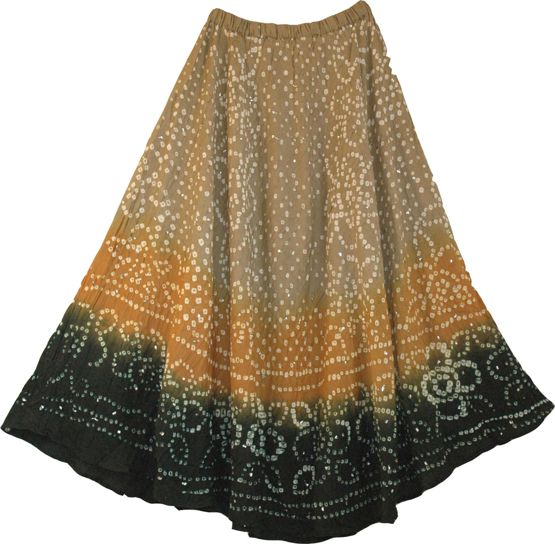 gypsy skirts glitter accented long gypsy ... surpdwq