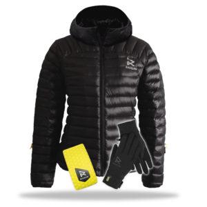 heated jackets womens heated down jacket + heated gloves + battery combo dgnwikz