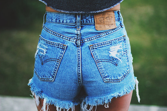 high waisted jean shorts high-waisted denim shorts: how to wear them, which ones to buy qakjrtt