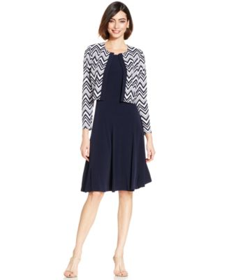 jacket dresses jessica howard petite chevron sequined dress and jacket iswoiyf