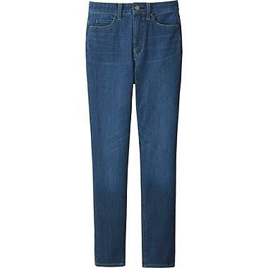 jeans for women women ultra stretch high rise ankle jeans, blue, medium gmofiix