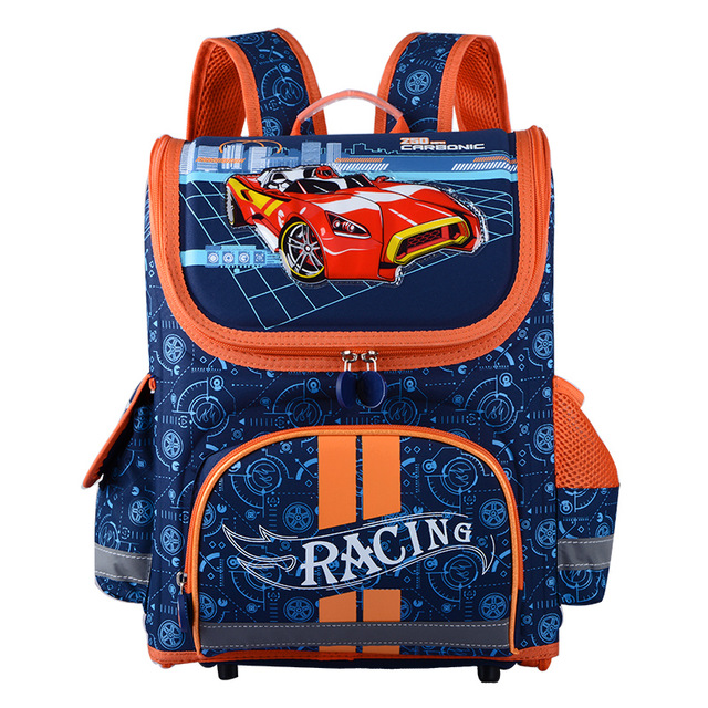 kids school bags new 2017 children school bags for boys orthopedic backpack cartoon cars eva emrrpft