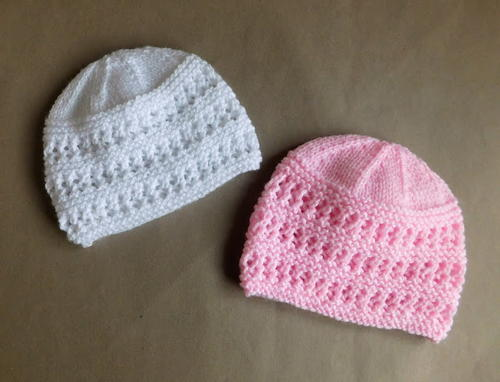 knitted baby hats two baby hat knitting patterns awlewlm