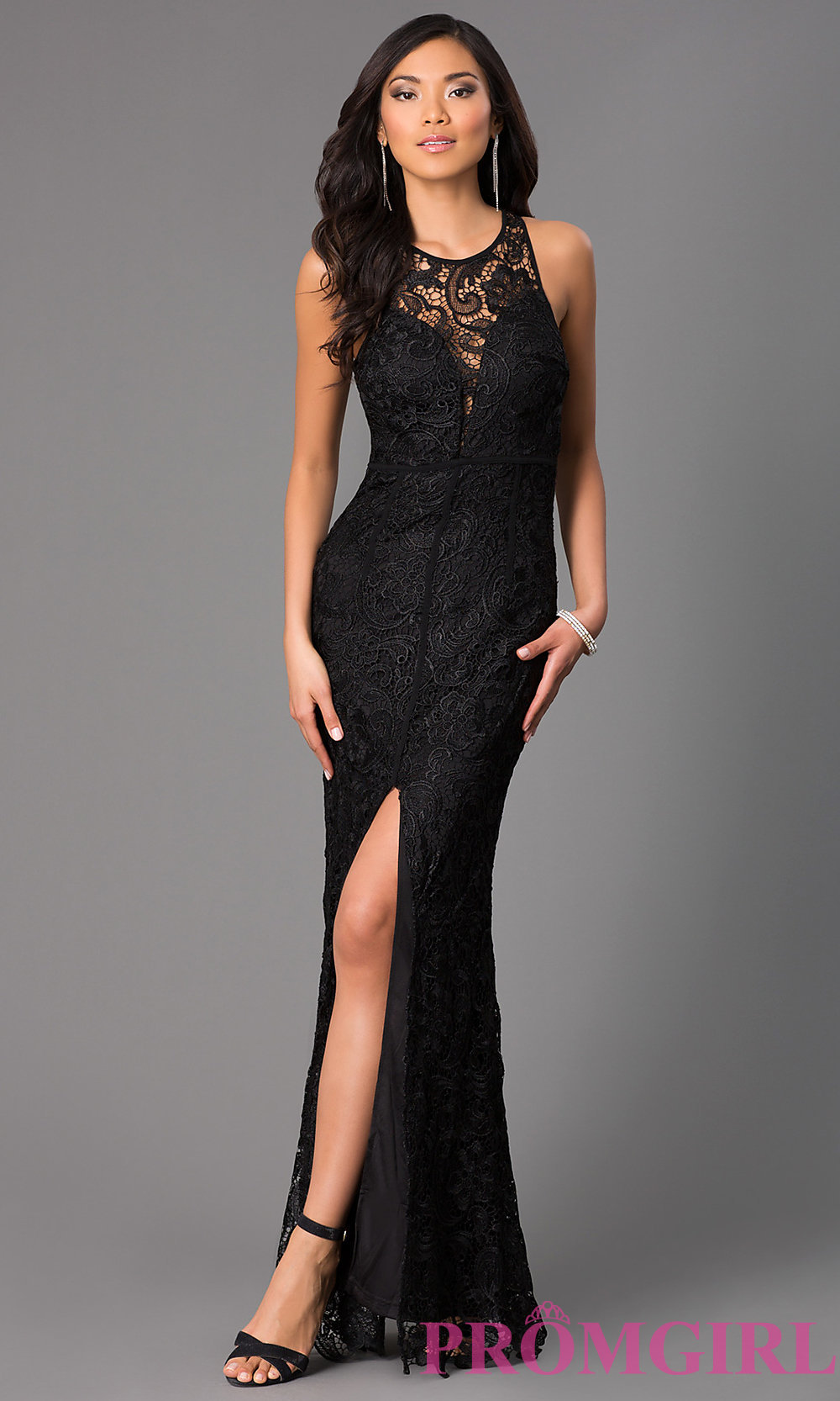 lace long dress hover to zoom · image of long lace sleeveless dress ... rpzowzd