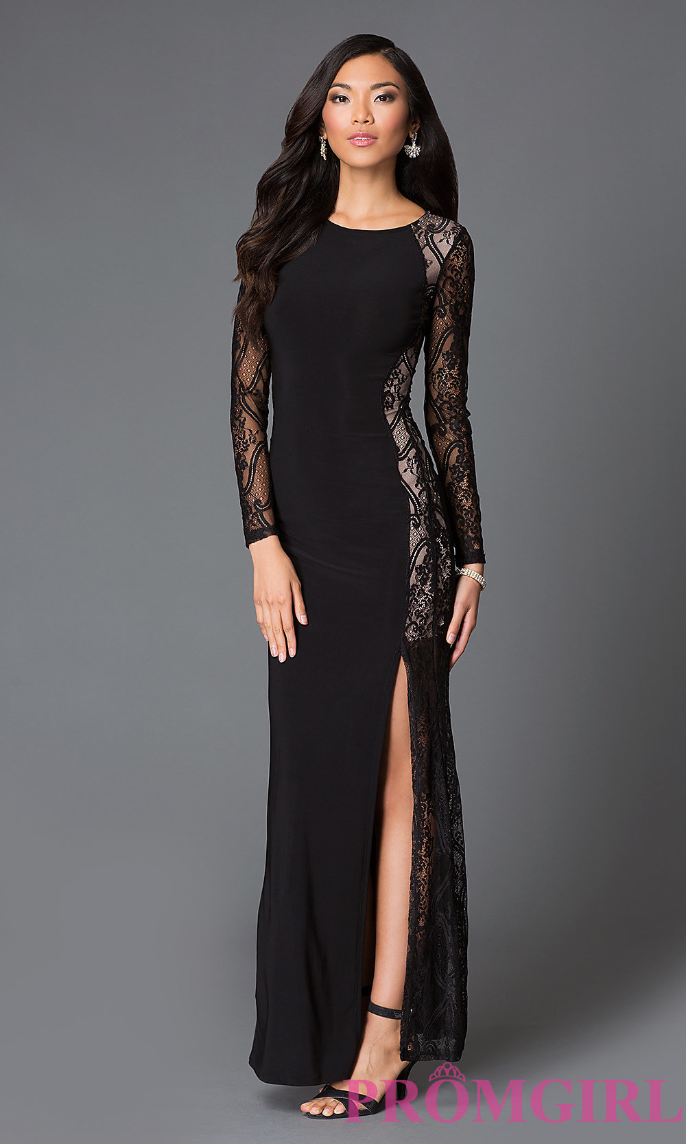 lace long dress hover to zoom gjxtiwi