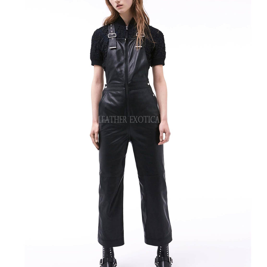 leather jumpsuit cool style leather jumpsuits for women bqzclia