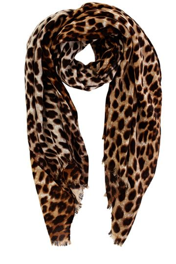 leopard scarf holiday gift guide: the fashionista. animal print scarfleopard ... kwhvuyq
