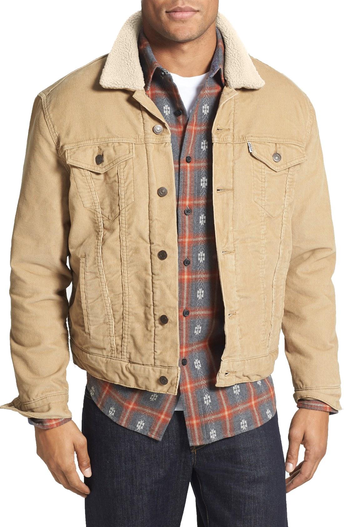 leviu0027s® trucker corduroy jacket   nordstrom bsfnrxq