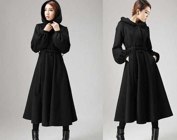 long black coat ladies re re fnzzghp
