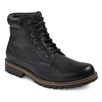 mens black boots menu0027s maddox combat boots black - mossimo supply co.™ gdqkayc