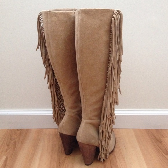 mia boots mia shoes - mia fringe suede boots hmizqvq